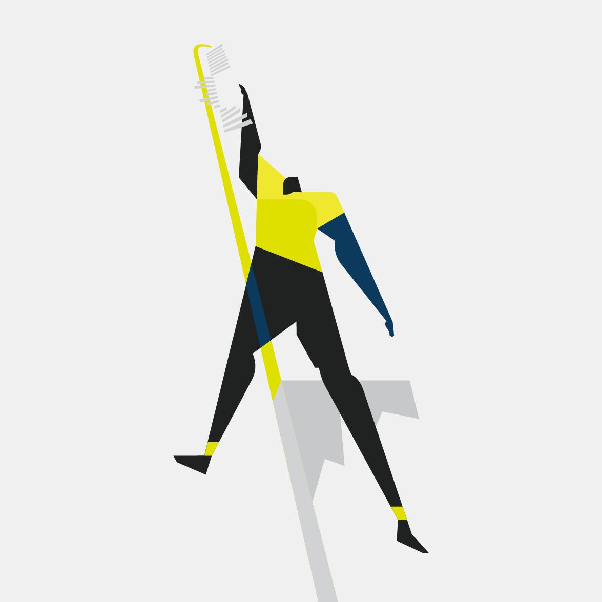 CFL Combine illustration design