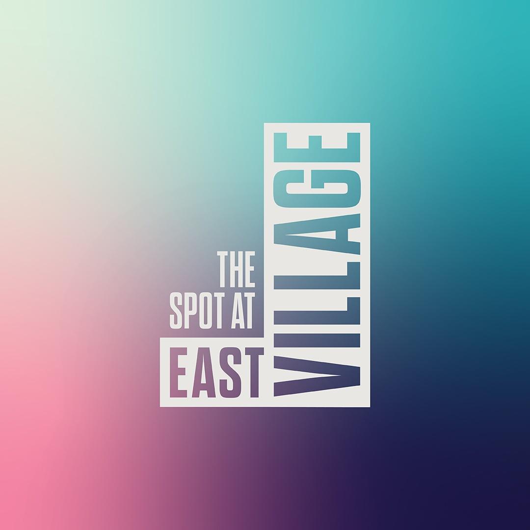 The Spot At East Village logo design