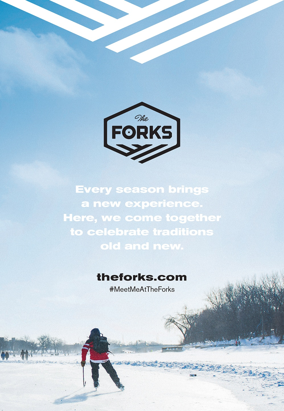 The Forks market advertisement