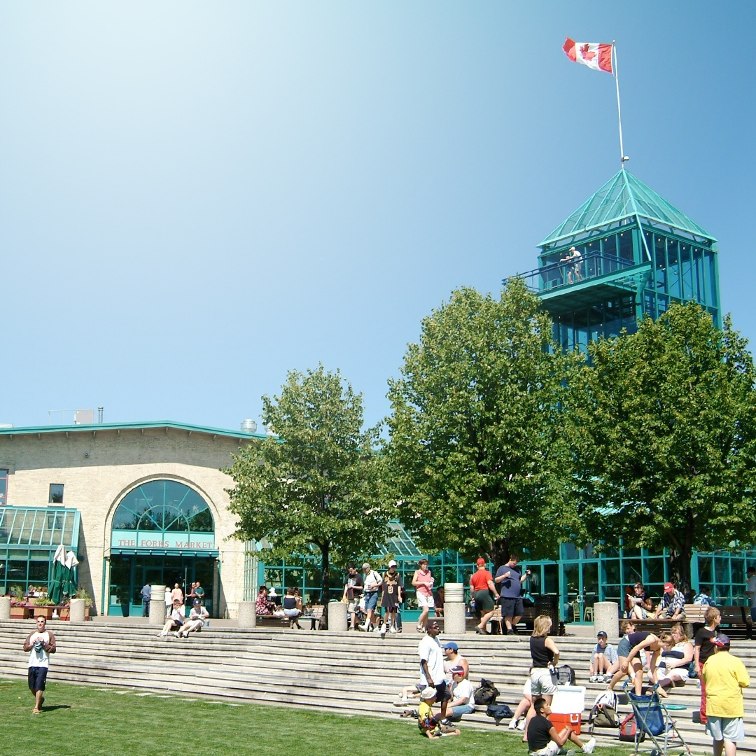 The forks exterior