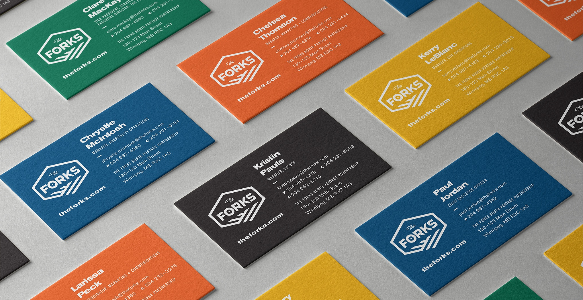The Forks business cards