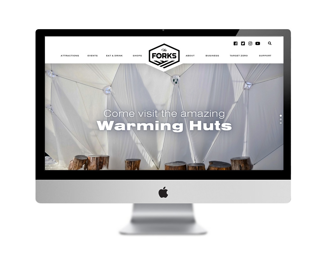 The Forks Market website