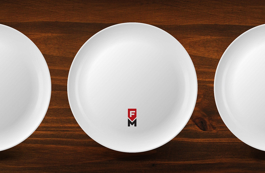 The Forks Market plate