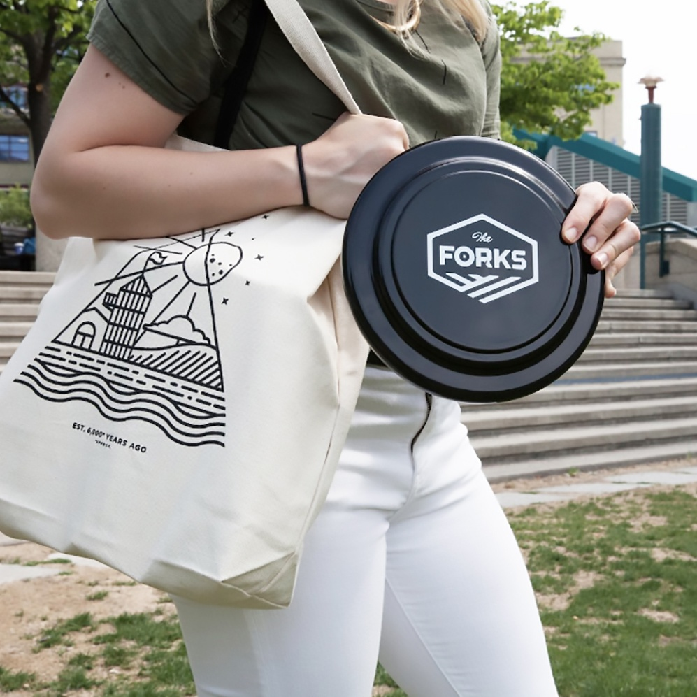 The Forks frisbee merchandise