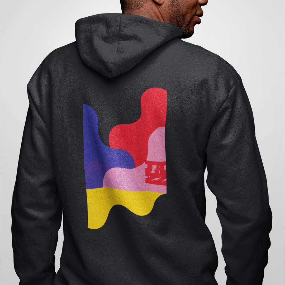 International Winnipeg Jazz Festival merchandise hoodie