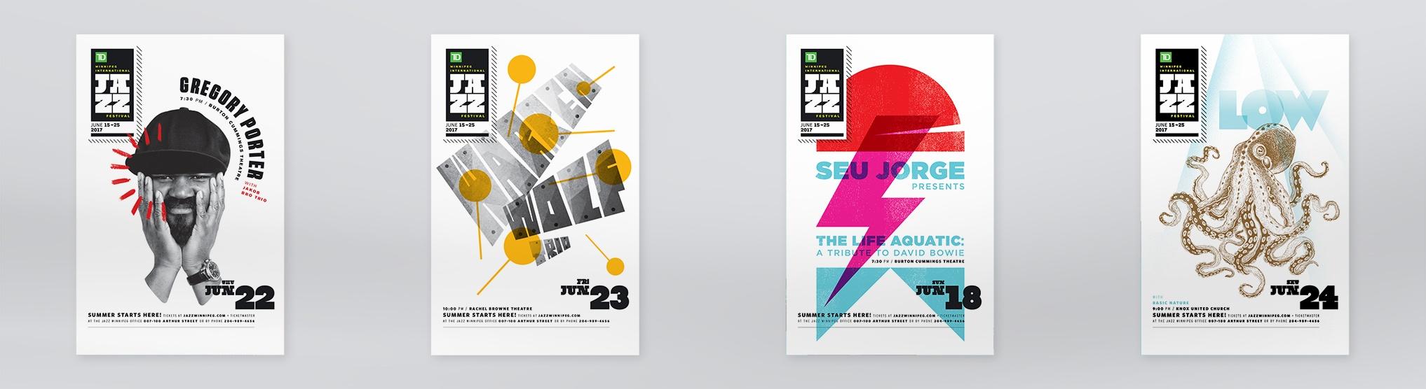 International Winnipeg Jazz Festival poster