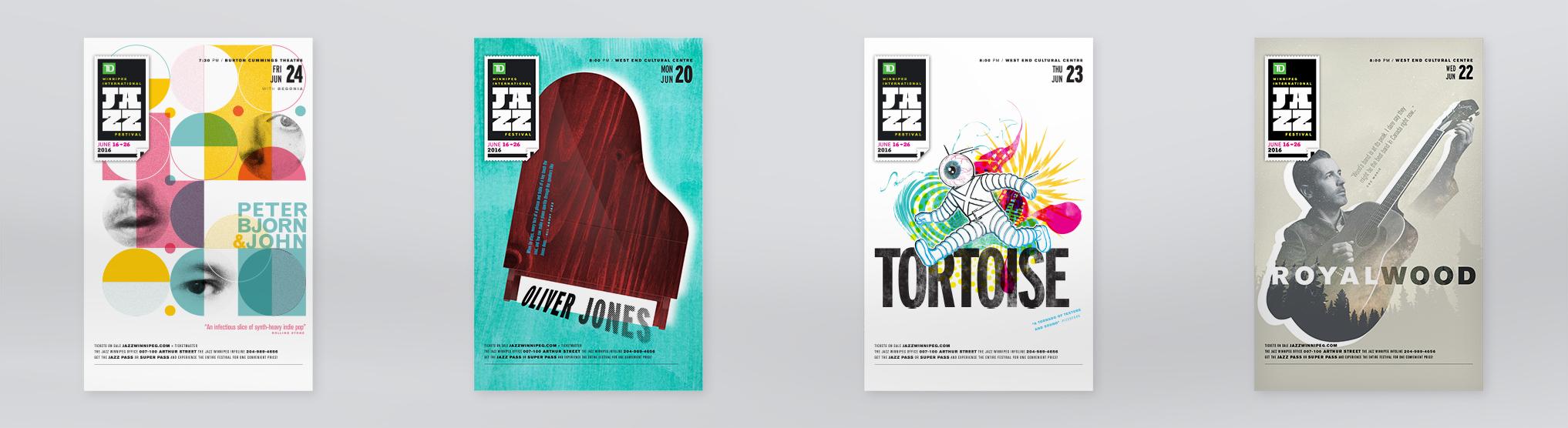 International Winnipeg Jazz Festival poster slide