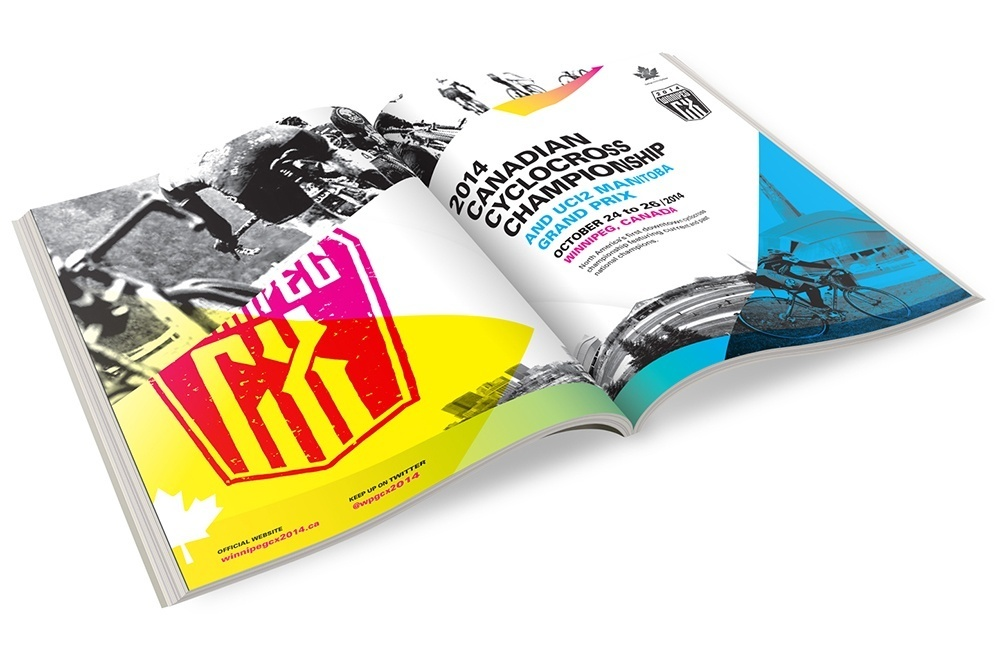 CMX Cyclocross Nationals magazine spread