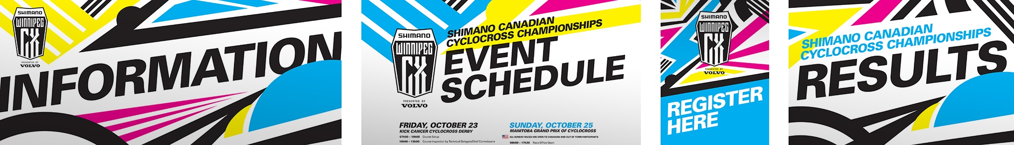 CMX Cylcocross Nationals signage