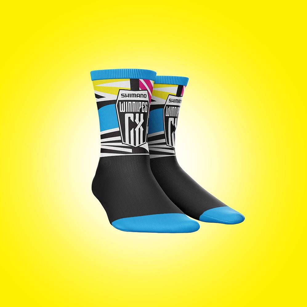CMX Cyclocross Nationals sock design